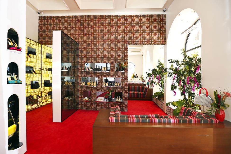 christian louboutin paris flagship store